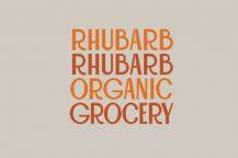 Rhubarb Rhubarb Organics