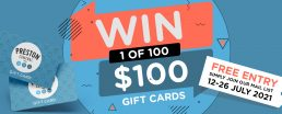 Preston Central Gift Card Giveaway